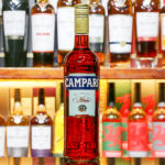Campari is an alcoholic liqueur, considered an apéritif