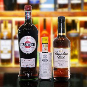 Classic Manhattan Cocktail Bundle