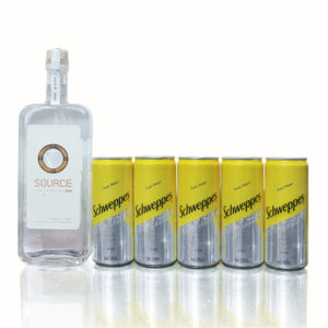 Source Gin and Free Tonic