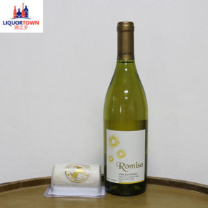 Romisa Chardonnay With Goats Cheese